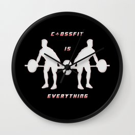 Crossfit is everything Wall Clock