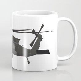 UH-60 Military Helicopter Coffee Mug