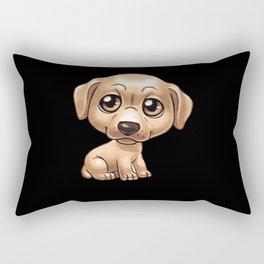 Dog Motif Dog Lover Gift Idea Design Rectangular Pillow