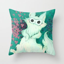 Lio The Fluffy Thing Throw Pillow