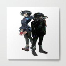 Tokyo Ghoul Kaneki & Touka Metal Print