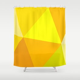 Prismatika Shades of Yellow Shower Curtain