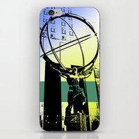 atlas iPhone & iPod Skins featuring Atlas by Amy Smith - ColorScape
