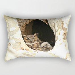 Lean on me Rectangular Pillow