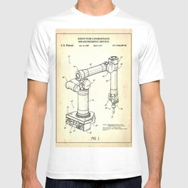 Robotic arm T-shirt
