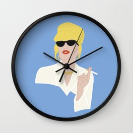 'Icons' Patsy Stone - Absolutely Fabulous Wall Clock
