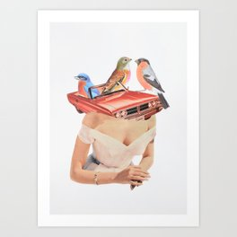 Excuse me. He´s taken. Art Print