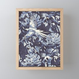Tropical II - watercolor Framed Mini Art Print