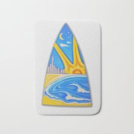 Surfs Up Bath Mat