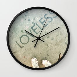 Are You Loveless? Wall Clock