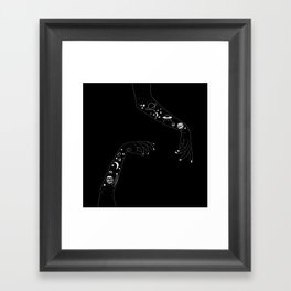 Space Arms Framed Art Print