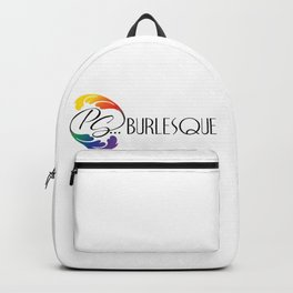 ps...burlesque logo Backpack