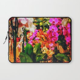 Orchids in the Market Laptop Sleeve