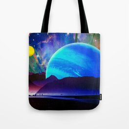 A Sunday Afternoon On The Island Of A Distant Planet Tote Bag