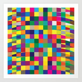 Geometric No. 4 Art Print