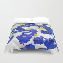 Pea Flower Duvet Cover