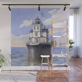 Fourteen Foot Bank Lighthouse, Delaware Wall Mural