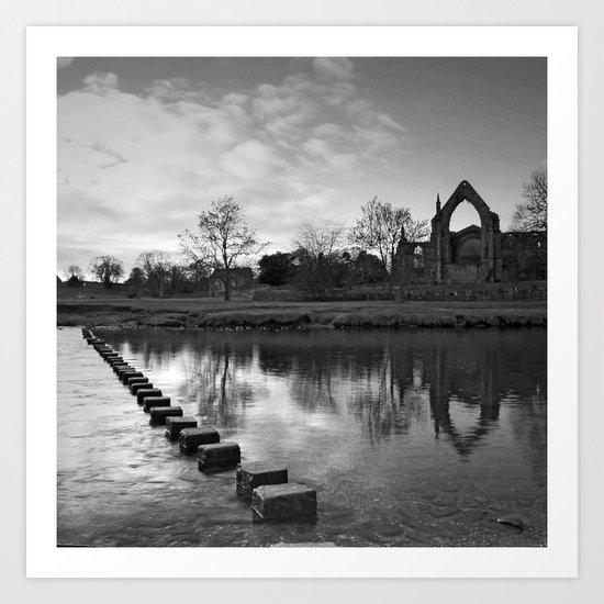 Bolton Priory Art Print