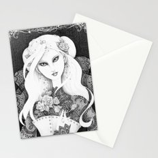 Midnight Rose Stationery Cards