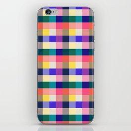 Summer Plaid iPhone Skin