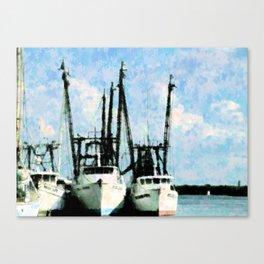 Home Of The Shrimp Fleet Canvas Print