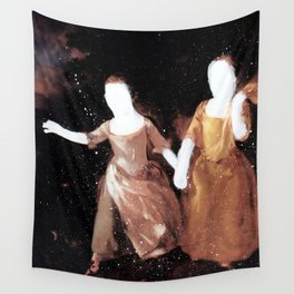 Brutalized Gainsborough 3 Wall Tapestry