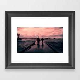 Good Day for Fishing Framed Art Print
