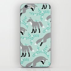 Socks the Fox - Dusk iPhone & iPod Skin