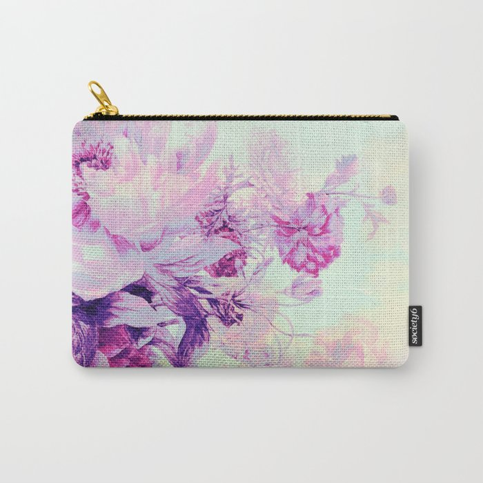 pastel bouquet Carry-All Pouch