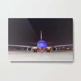 Face To Face with a Southwest Airlines Boeing 737-700 Metal Print