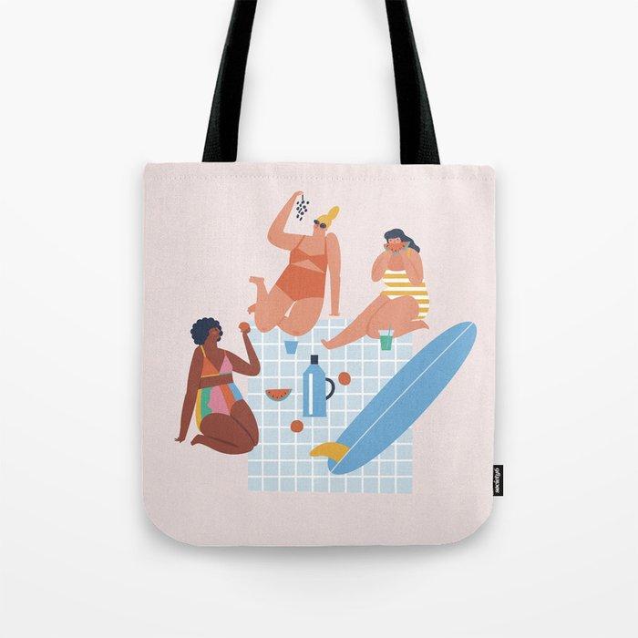 Surf sistas Tote Bag