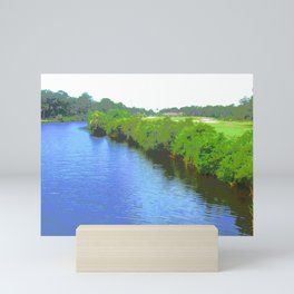 Across the Lagoon Mini Art Print