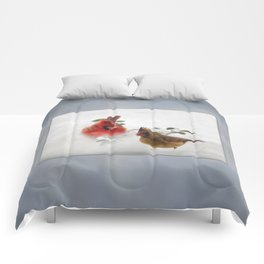 Mr. and Mrs. Cardinal Comforters