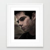 dylan Framed Art Prints featuring dylan by Finduilas