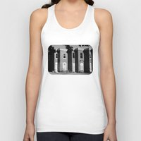 baltimore Tank Tops featuring West Baltimore by Andrew Mangum