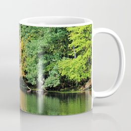 Evergreen Reflections- horizontal Coffee Mug