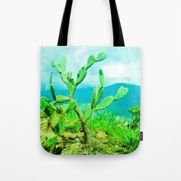 Hostility and coldness. Tote Bag