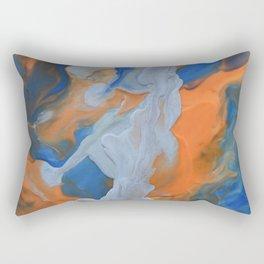 Silver strikes Rectangular Pillow