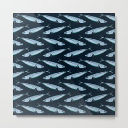 Mackerel Metal Print