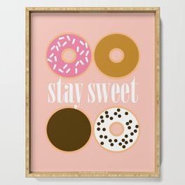 STAY SWEET - DONUT BOX Serving Tray