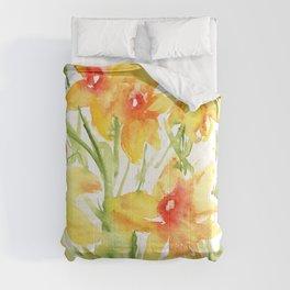 Loose Daffodils II Comforters
