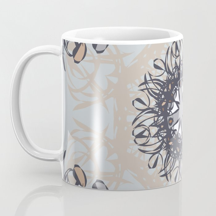 Colors of a Winter Day - Mosaic Coffee Mug