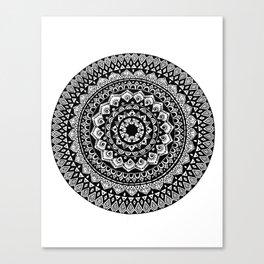 Tribal Inspired Mandala A Canvas Print