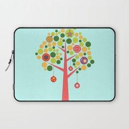 Christmas tree illustration Laptop Sleeve