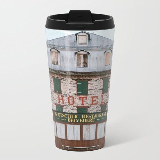 Hotel Belvedere, Switzerland Metal Travel Mug