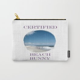 Certified Beach Bunny Carry-All Pouch