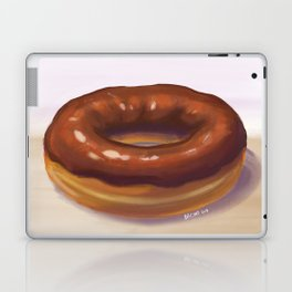 Chocolate Frosted Donut Laptop & iPad Skin