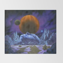 Time is the simplest thing Throw Blanket
