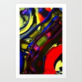 Incarnation of Madness Art Print