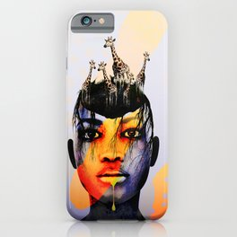 abstarct art iPhone Case